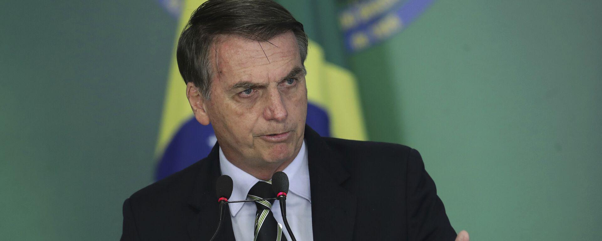 Jair Bolsonaro, presidente de Brasil - Sputnik Mundo, 1920, 09.08.2021