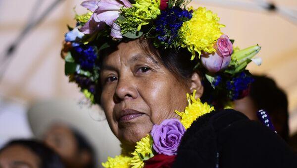 María de Jesús Patricio Martínez, conocida como 'Marichuy', dirigente indígena - Sputnik Mundo