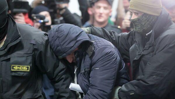 La detención de un miembro de la célula terrorista en el doble ataque de 2010 al metro de Moscú, Rusia - Sputnik Mundo