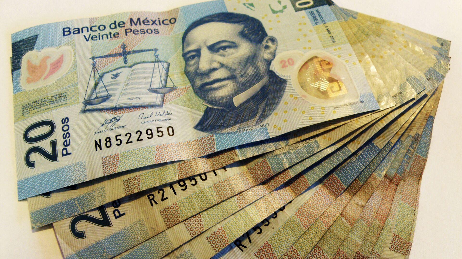 Pesos mexicanos - Sputnik Mundo, 1920, 25.06.2021