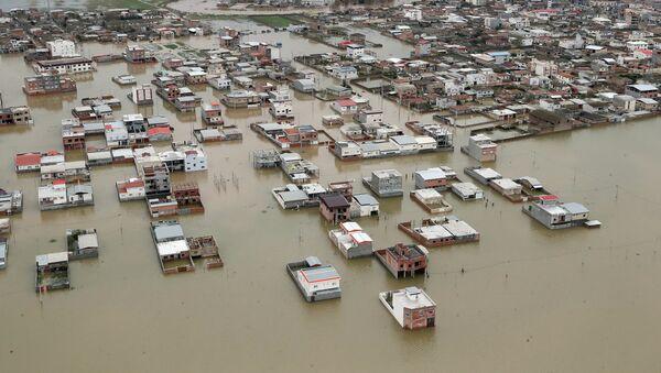 Las inundaciones en Irán - Sputnik Mundo