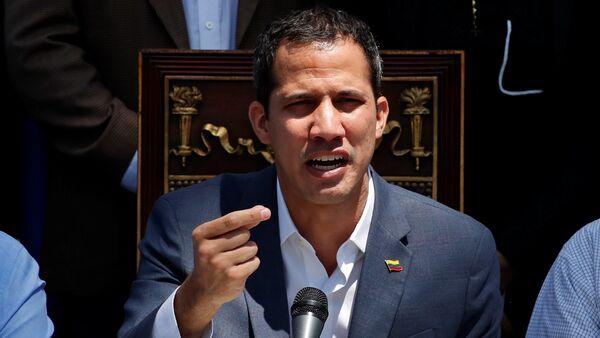 Juan Guaidó, lider opositor venezolano - Sputnik Mundo
