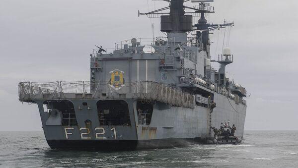 Fragata de la marina rumana Regele Ferdinand (F-221) - Sputnik Mundo