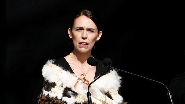 Jacinda Ardern, la primera ministra de Nueva Zelanda - Sputnik Mundo