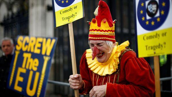 Protestas anti-Brexit - Sputnik Mundo