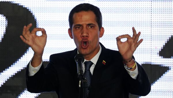 Juan Guaidó, autoproclamado presidente de Venezuela - Sputnik Mundo