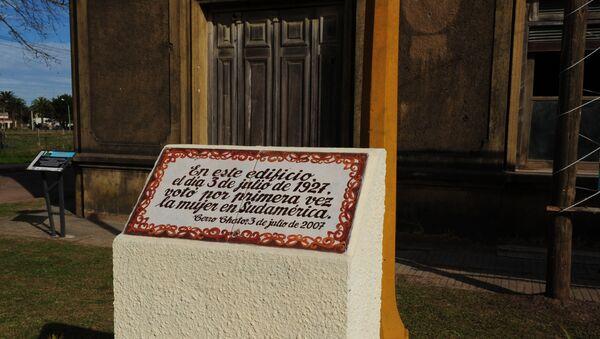 Casa donde votó por primera vez la mujer en Suramérica en la localidad uruguaya de Cerro Chato - Sputnik Mundo