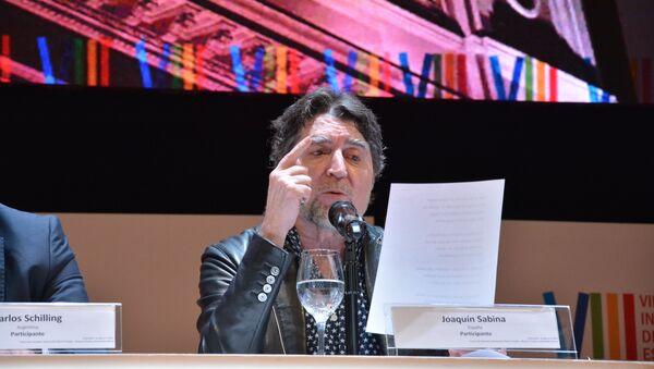 Joaquín Sabina en el Congreso Internacional de la Lengua Española 2019 - Sputnik Mundo
