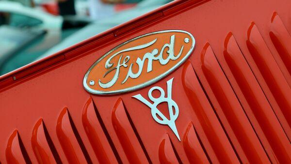 Logo de Ford, la empresa estadounidense fabricante de automóviles - Sputnik Mundo
