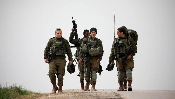 Los militares israelíes - Sputnik Mundo