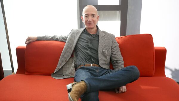 Jeff Bezos, fundador de Amazon - Sputnik Mundo
