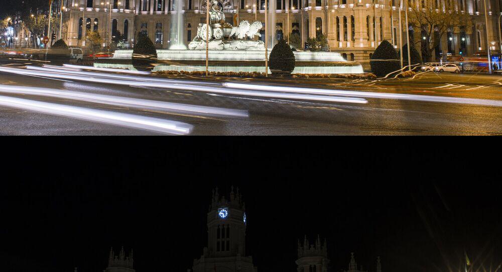 Hora del Planeta en Madrid