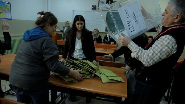 Los comicios municipales en Turquía - Sputnik Mundo
