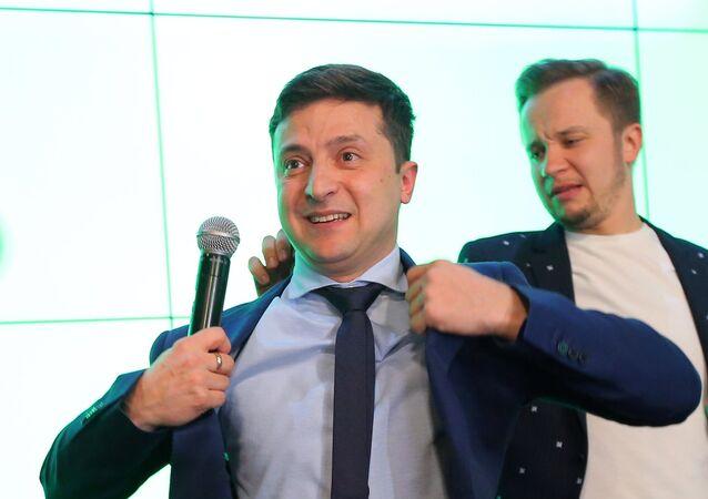 El comediante ucraniano, Volodímir Zelenski
