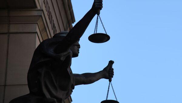 Una estatua de Justicia (imagen referencial) - Sputnik Mundo