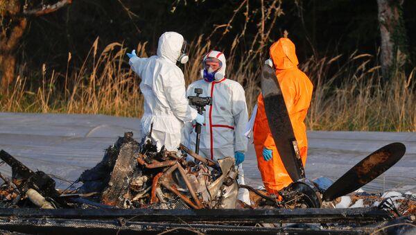 La catástrofe aérea de la corporación S7 Group en Alemania - Sputnik Mundo