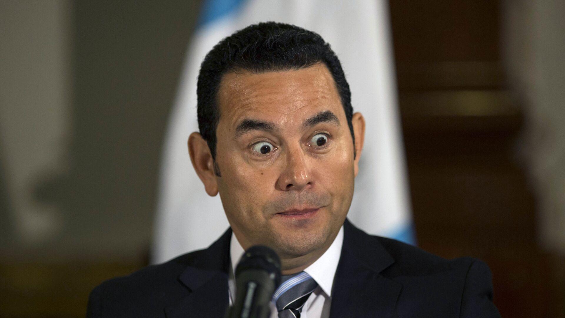Jimmy Morales, expresidente de Guatemala - Sputnik Mundo, 1920, 22.04.2021
