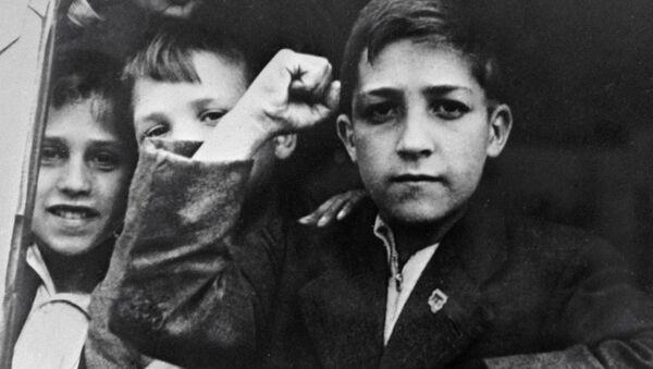 Niños de la guerra (archivo) - Sputnik Mundo
