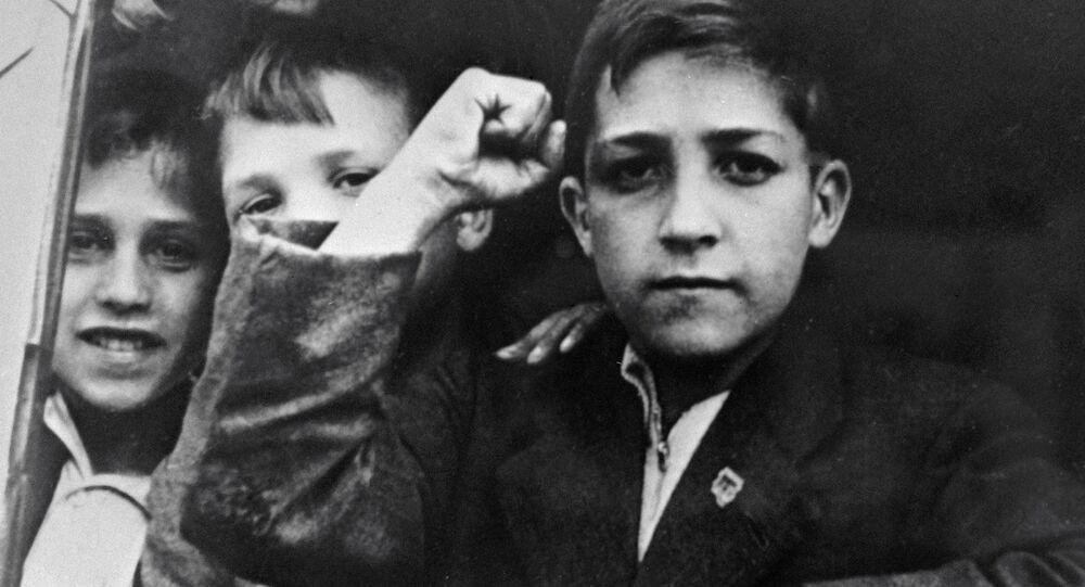 Niños de la guerra (archivo)