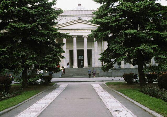 El Museo de Bellas Artes Pushkin