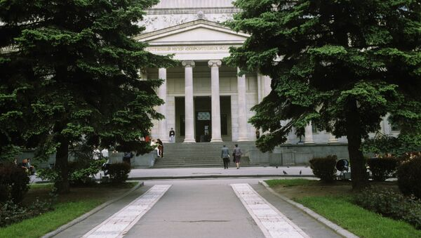 El Museo de Bellas Artes Pushkin - Sputnik Mundo