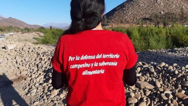Resistencia civil en Salamanca, Chile, contra la minera Los Pelambres - Sputnik Mundo