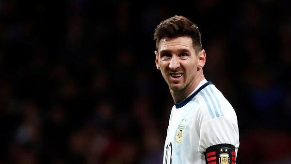 Lionel Messi, futbolista argentino - Sputnik Mundo