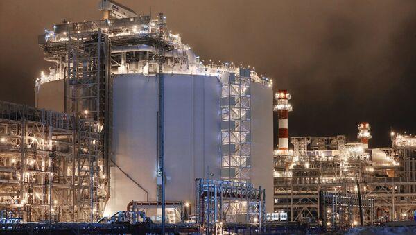 La planta Yamal LNG - Sputnik Mundo