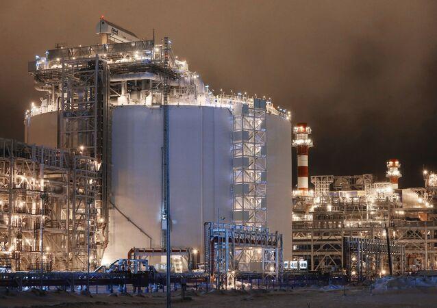 La planta Yamal LNG