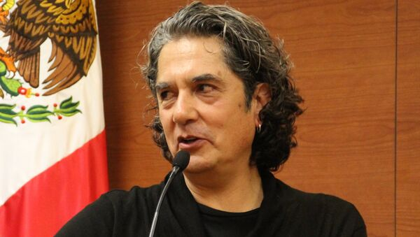 El músico mexicano Armando Vega Gil - Sputnik Mundo