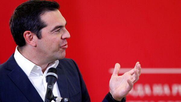 El primer ministro de Grecia, Alexis Tsipras - Sputnik Mundo