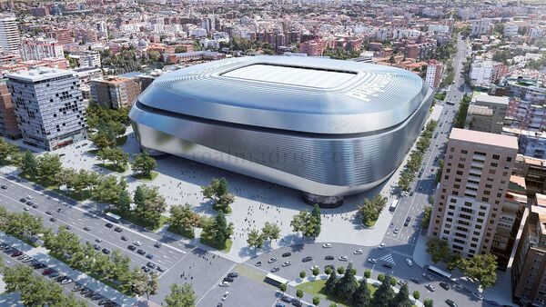 El modelo digital del nuevo estadio Bernabéu - Sputnik Mundo