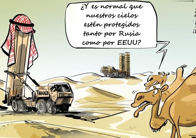 Los cielos de Arabia Saudí, ¿protegidos tanto por Rusia como EEUU?