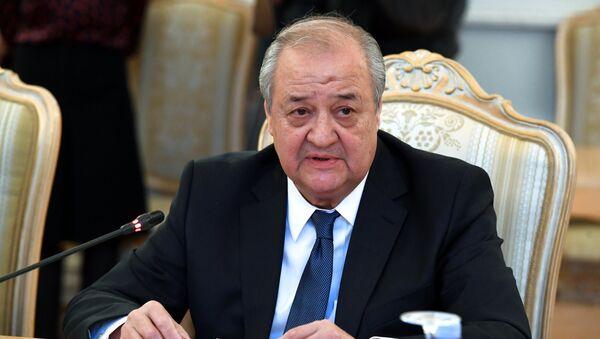Abdulaziz Kamilov, canciller uzbeko - Sputnik Mundo