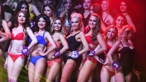 El tamaño no importa en Miss Internacional Mini 2019 - Sputnik Mundo