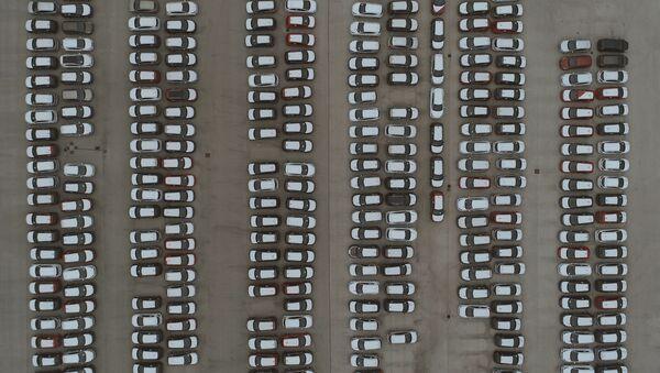 Un aparcamento - Sputnik Mundo