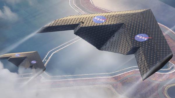 Un concepto de avión de la NASA y del MIT - Sputnik Mundo