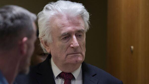 Radovan Karadzic, expresidente de la República Srpska - Sputnik Mundo