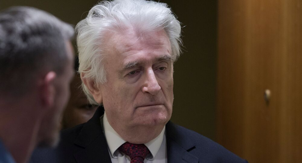 Radovan Karadzic, expresidente de la República Srpska