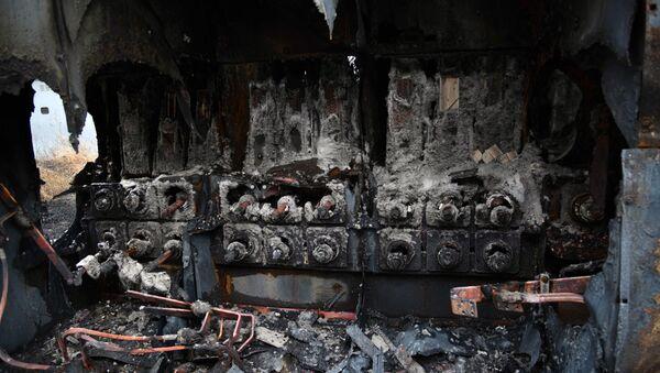 Las consecuencias del incendio de la empresa estatal Corporación Eléctrica Nacional (Corpoelec) - Sputnik Mundo