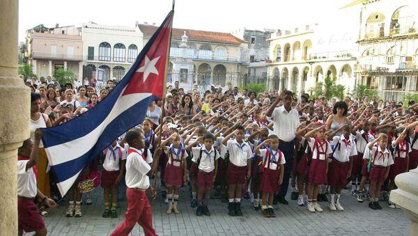 Escuela en Cuba - Sputnik Mundo
