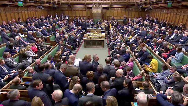 El parlamento del Reino Unido - Sputnik Mundo