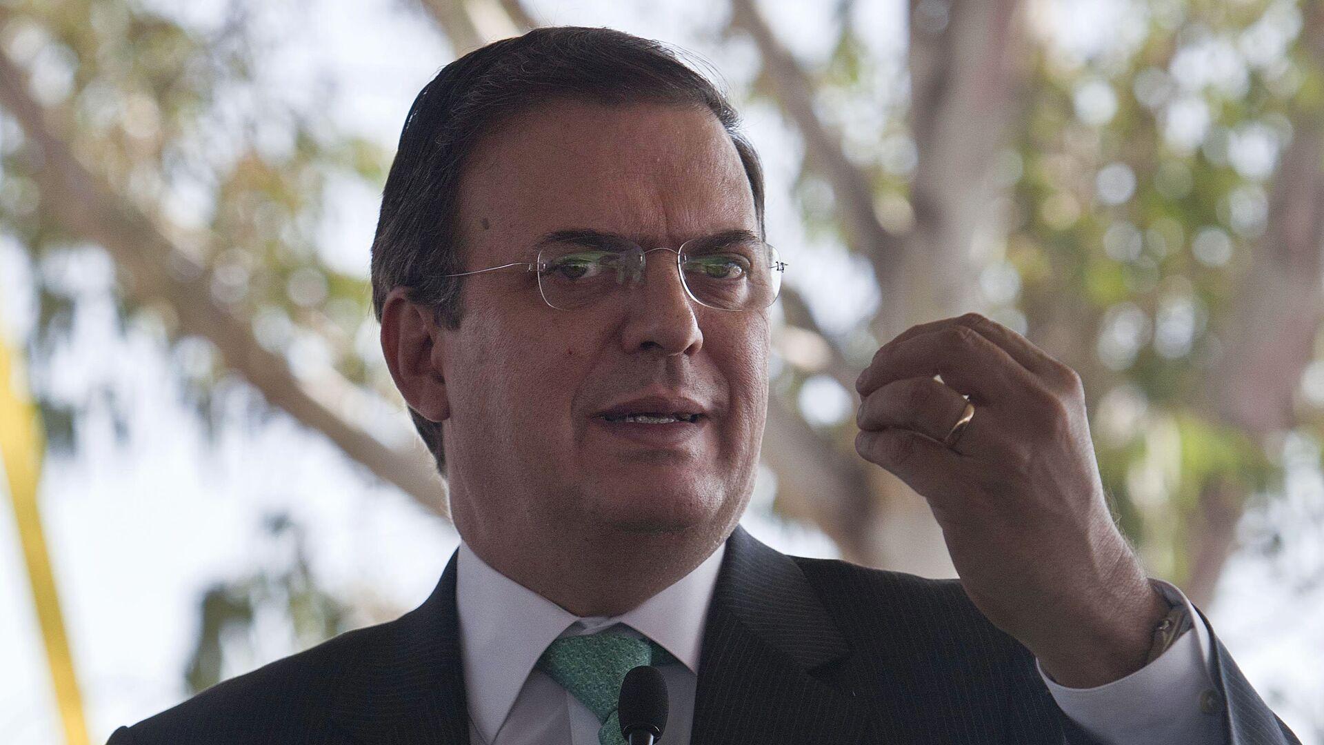 Marcelo Ebrard, secretario de Relaciones Exteriores de México - Sputnik Mundo, 1920, 16.06.2021