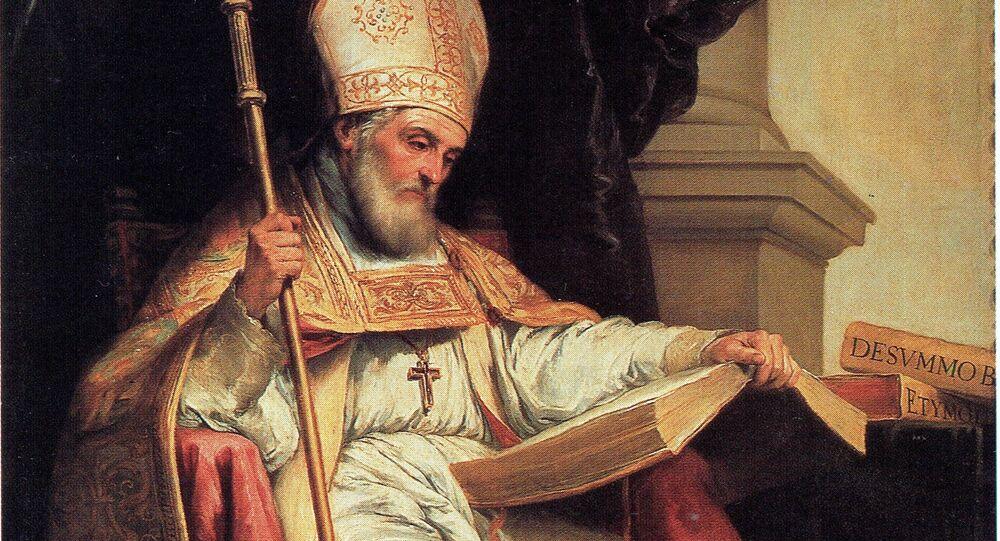 San Isidoro de Sevilla, patrón de internet
