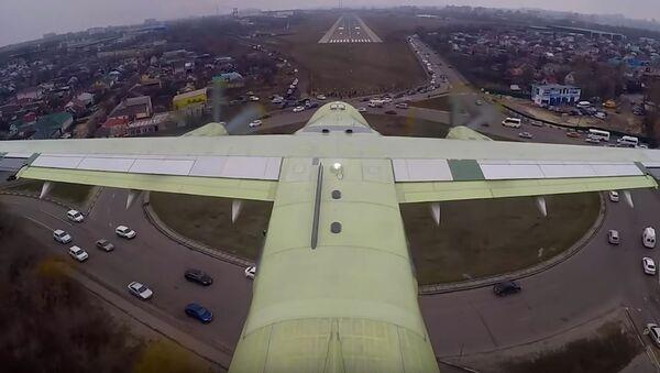 Primer vuelo del Il-112V - Sputnik Mundo