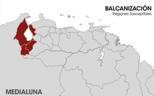 La balcanizacion en el mapa - Sputnik Mundo
