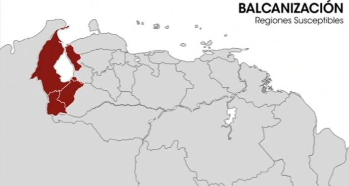 La balcanizacion en el mapa