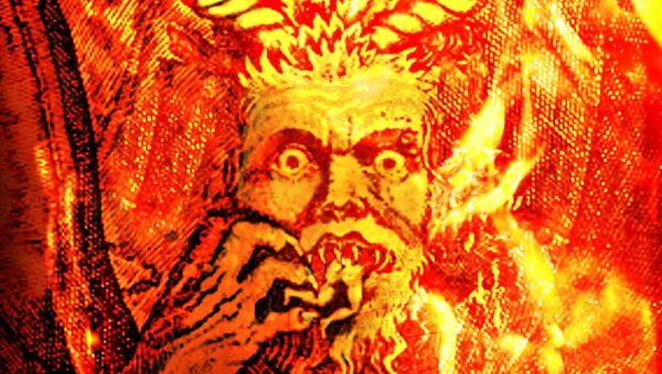 Una ilustración de Satán - Sputnik Mundo