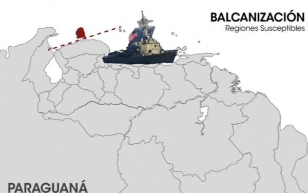 Paraguaná, regiones suceptibles de la balcanización en el mapa - Sputnik Mundo