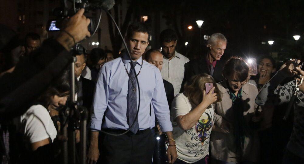 Juan Guaidó, lider opositor venezolano